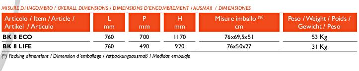misure-famur-bk8-eco-life
