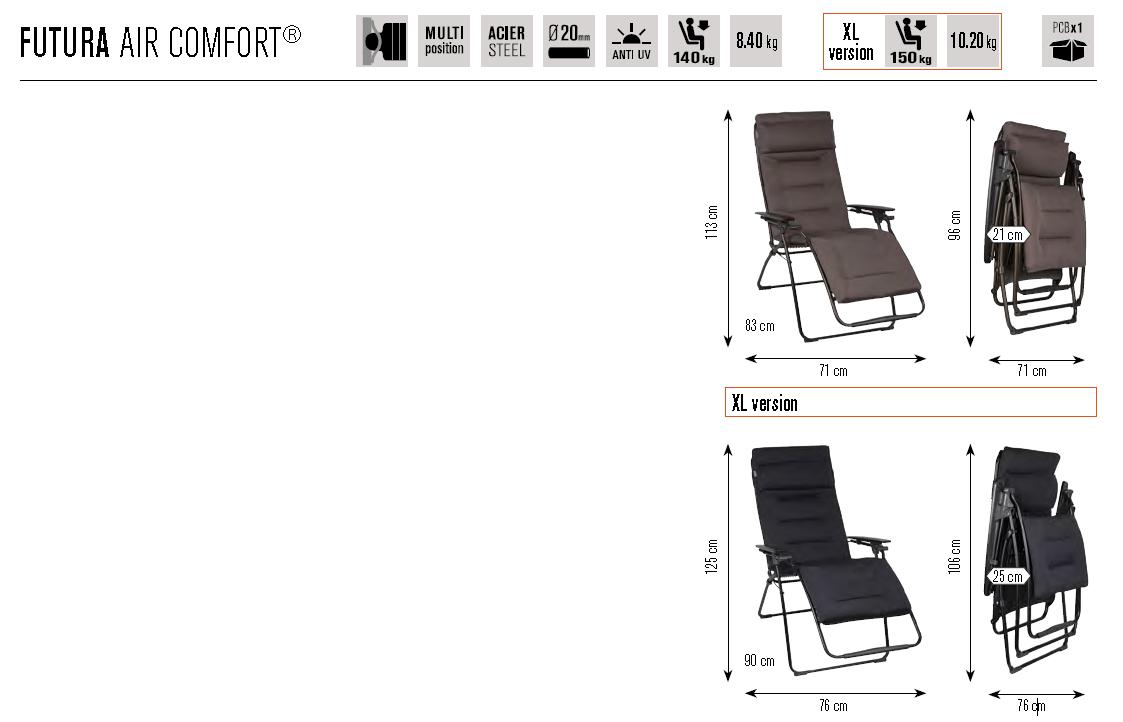 scheda-tecnica-lafuma-futura-air-confort-fornari-outdoor-design-rieti