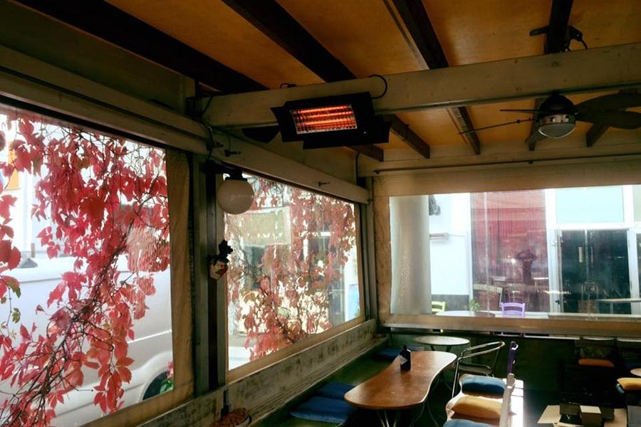 Riscaldatore a infrarossi oasi radialight ip kw telecomando