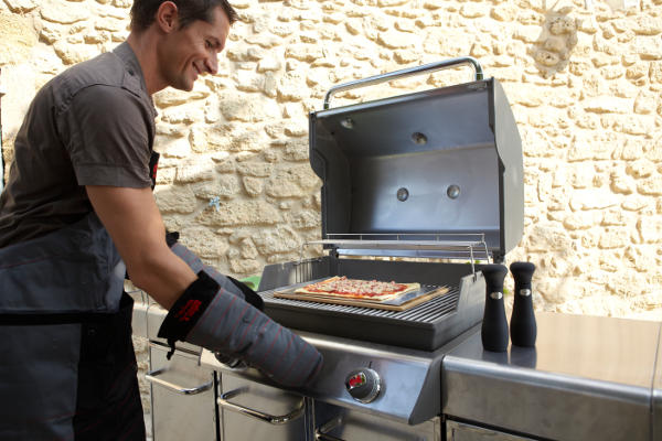 Illuminazione per barbecue ambiente elettrico friendly