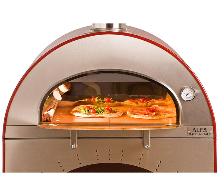 Alfa forni forno a legna da esterno pizza e brace - Forno per pizza domestico ...