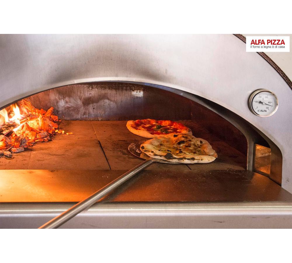 Alfa forni forno a legna da esterno 4 pizze - Forno per la pizza ...