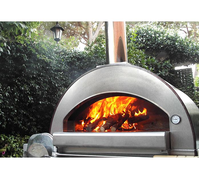 alfa forni forno a legna da esterno 4 pizze