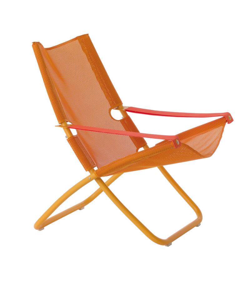 Poltrona Sdraio.Sedia Sdraio Snooze Di Emu Colore Arancio